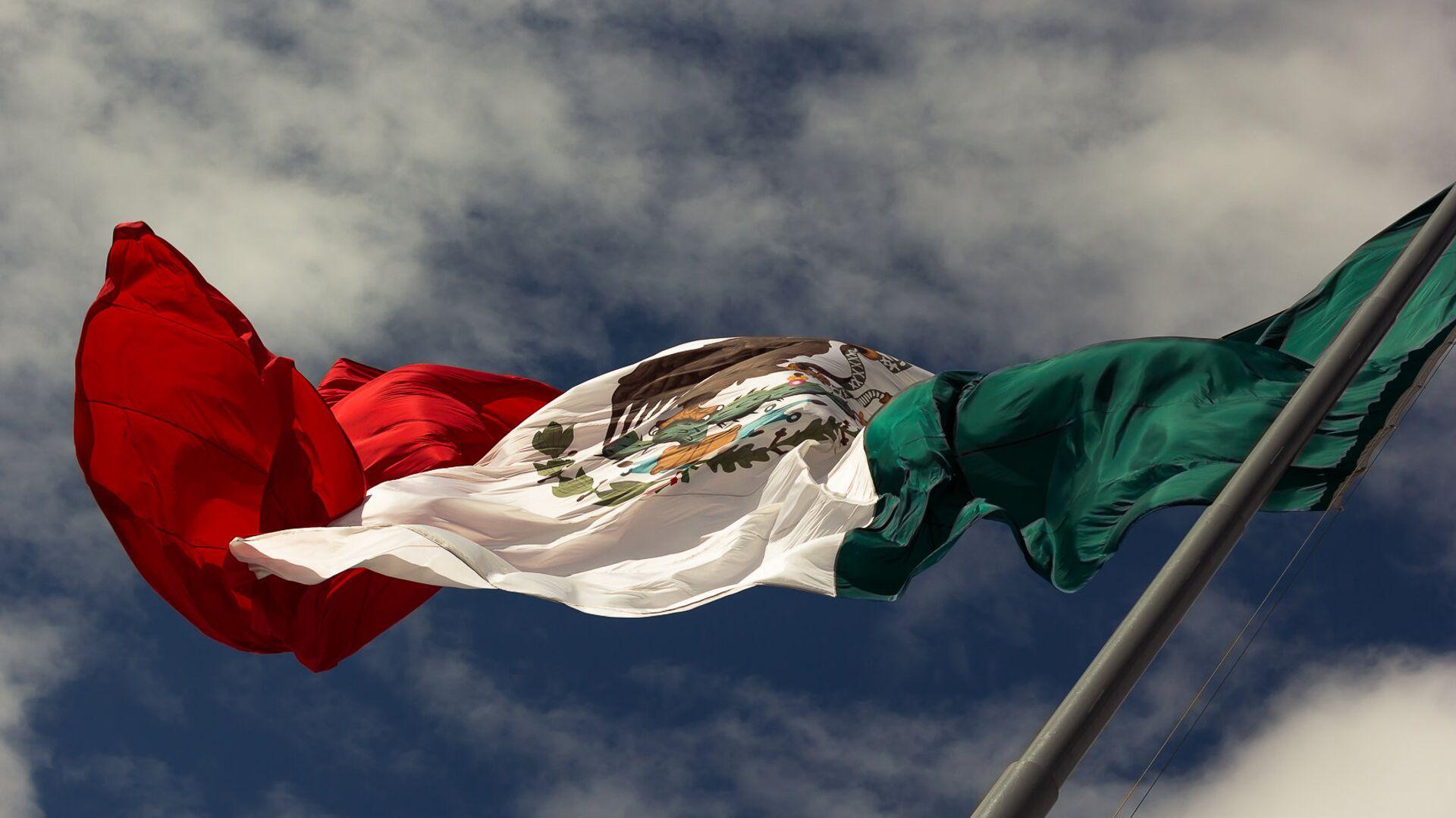 La bandera de México - Sputnik Mundo, 1920, 04.06.2021