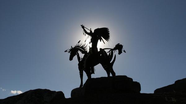 Monumento del cacique de los indios de Oyosoo, Canada - Sputnik Mundo