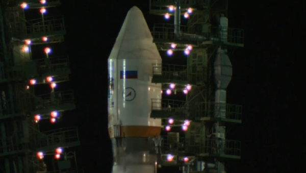Lanzamiento del cohete portador Soyuz-2.1b desde Baikonur - Sputnik Mundo