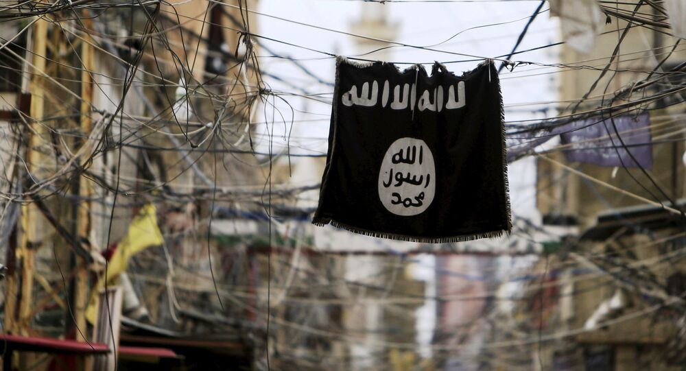 Bandera de ISIS (archivo)