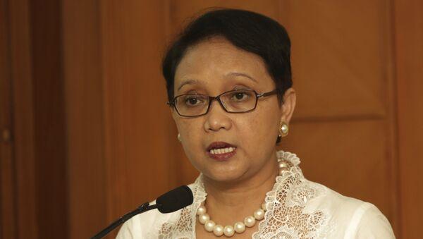 Retno Marsudi, ministra de Exteriores de Indonesia - Sputnik Mundo