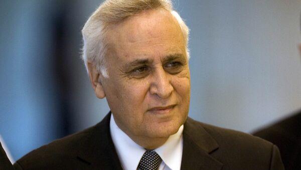 Moshe Katsav, expresidente de Israel - Sputnik Mundo