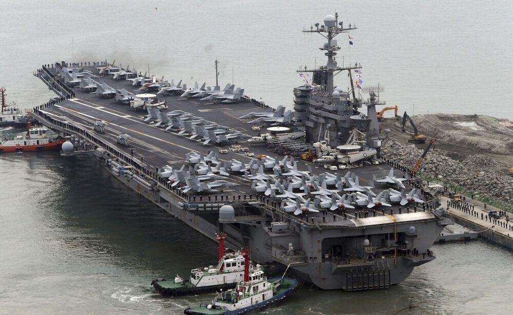 Las maniobras conjuntas sin precedentes entre EEUU y Corea del Sur