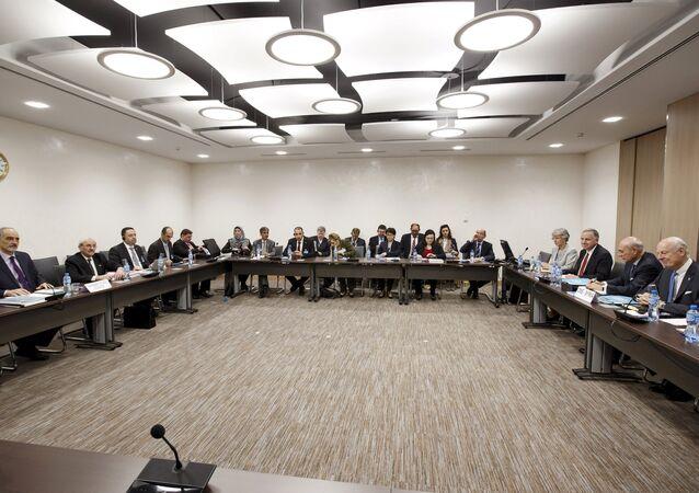 Ronda de las consultas intersirias en Ginebra