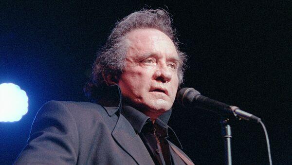 Johnny Cash, cantante de country de EEUU - Sputnik Mundo