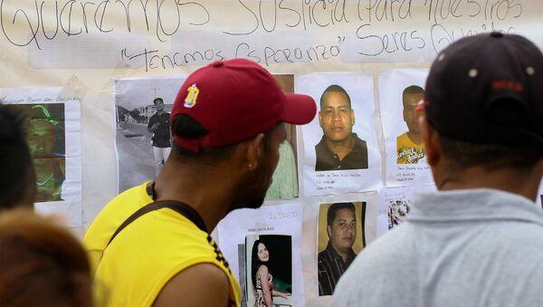 Fotos de los mineros desaparecidos en Venezuela - Sputnik Mundo
