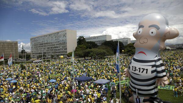 Justicia de Sao Paulo cede decisión sobre encarcelamiento de Lula al juez Moro - Sputnik Mundo