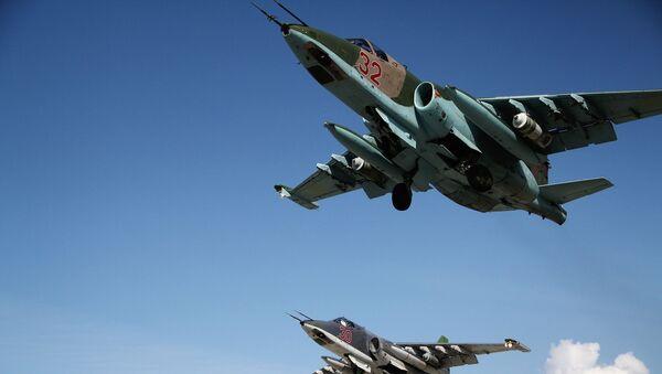 Aviones rusos en Siria - Sputnik Mundo