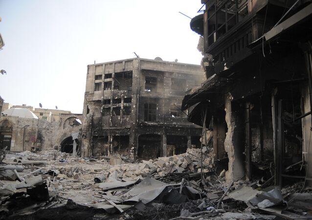 Situación en Alepo