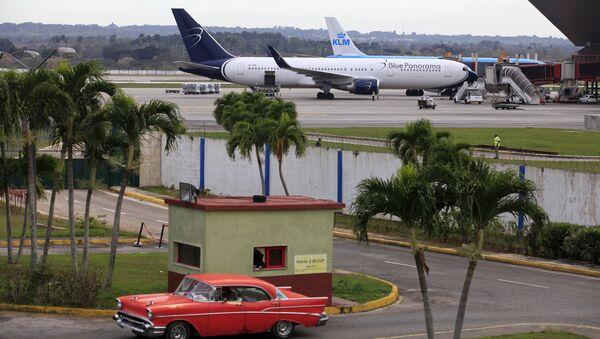 Aviones en el aeropuerto de la Habana - Sputnik Mundo