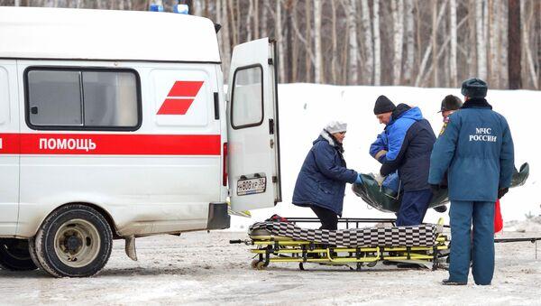 El coche de ambulancia - Sputnik Mundo