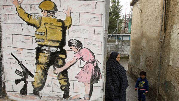 Campo de refugiados en Palestina - Sputnik Mundo
