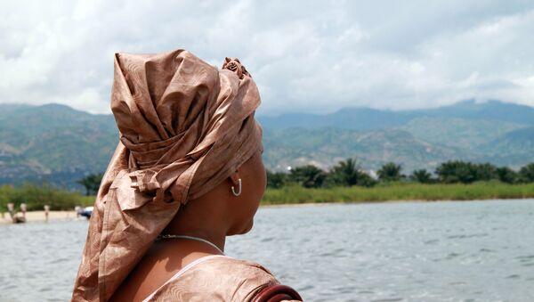 Una ciudadana de Burundi - Sputnik Mundo