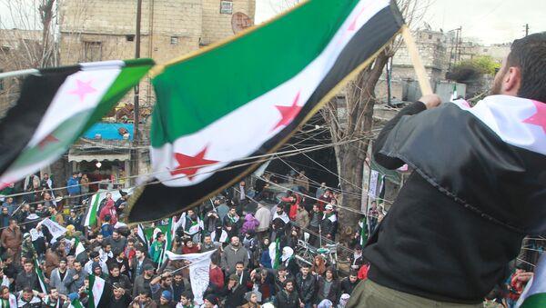La oposición siria (archivo) - Sputnik Mundo
