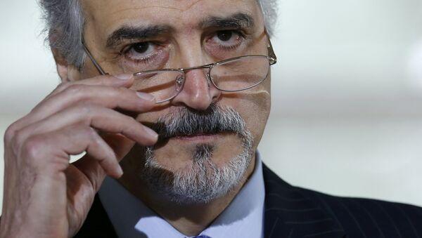 Bashar Jaafari, representante permanente de Siria ante las Naciones Unidas - Sputnik Mundo