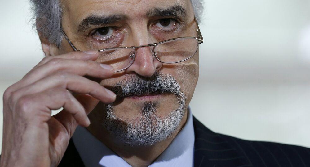 Bashar Jaafari, representante permanente de Siria ante las Naciones Unidas