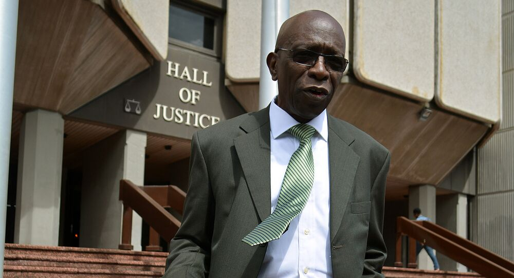 Jack Warner, exvicepresidente de la FIFA