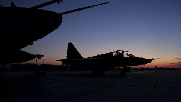 Cazas Su-25 rusos - Sputnik Mundo