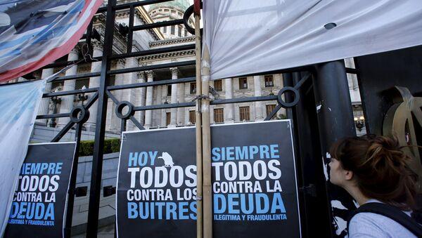 El Senado argentino comienza a discutir el proyecto de ley para pagar a los fondos buitre - Sputnik Mundo