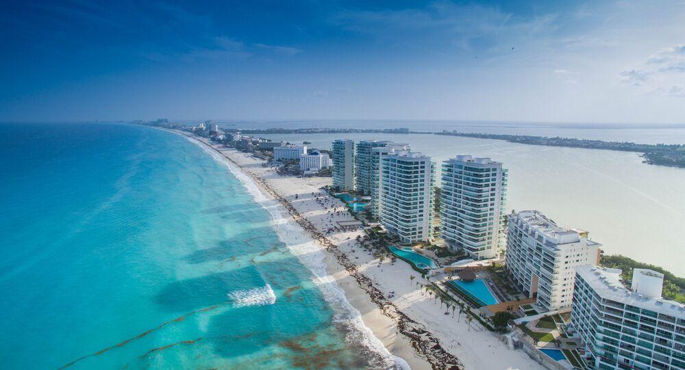 El balneario mexicano de Cancún