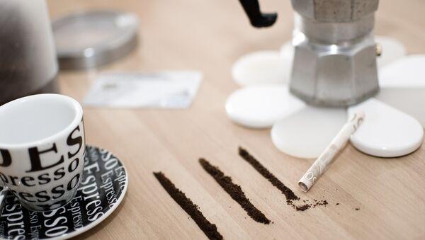 Café-cocaína - Sputnik Mundo