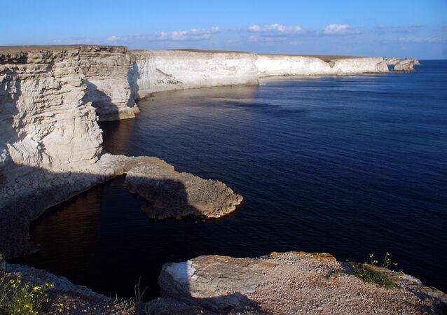 El mar Negro en Crimea