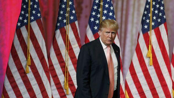 Donald Trump, candidato republicano a la presidencia de EEUU - Sputnik Mundo