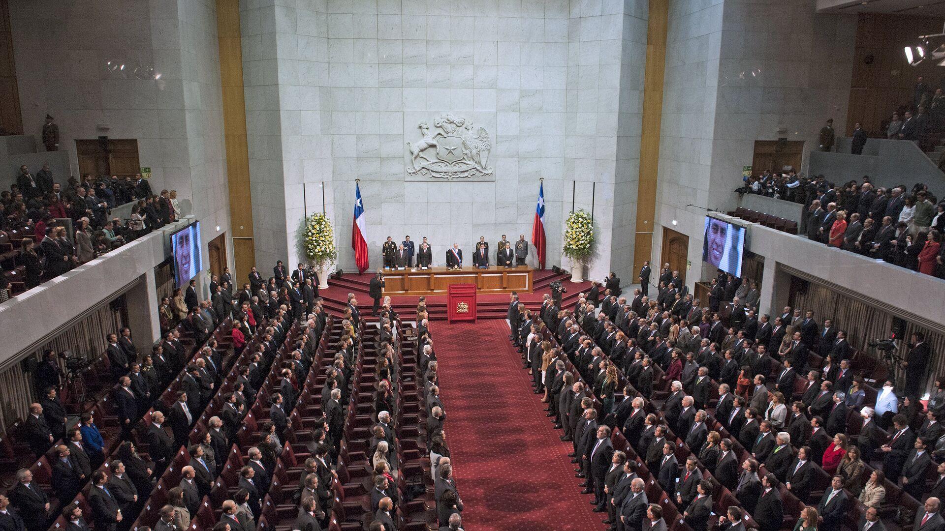 Congreso de Chile (archivo) - Sputnik Mundo, 1920, 23.04.2021