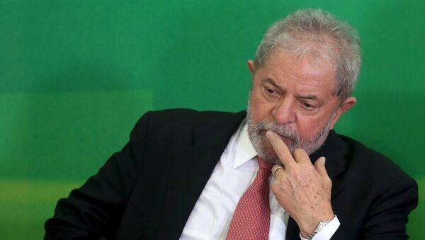 Luiz Inácio Lula da Silva, expresidente de Brasil y líder histórico del PT - Sputnik Mundo
