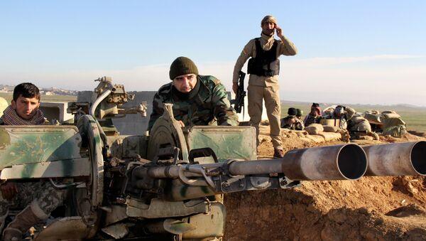 Militantes kurdos en Irak (archivo) - Sputnik Mundo