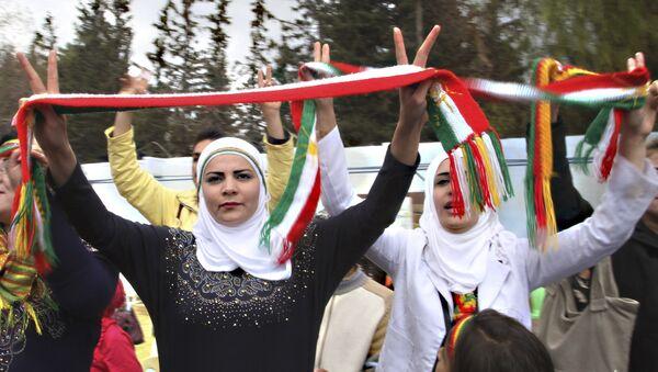 Las kurdas sirias - Sputnik Mundo