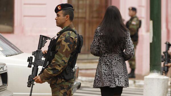 Militares paraguayos (archivo) - Sputnik Mundo