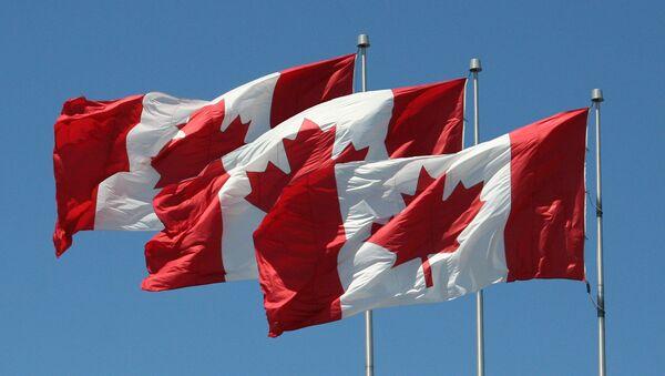 Banderas de Canadá - Sputnik Mundo
