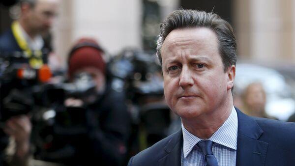 David Cameron, exprimer ministro británico - Sputnik Mundo