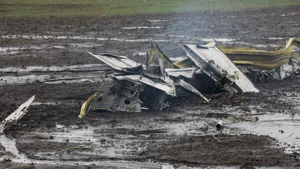 Lugar del siniestro del Boeing en Rostov del  Don, Rusia (archivo) - Sputnik Mundo