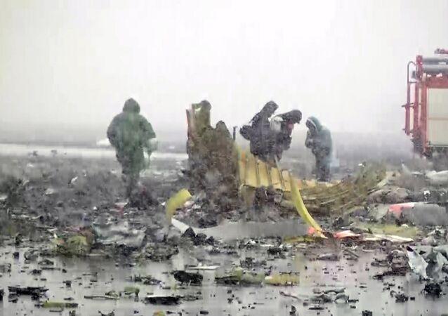 El avión de pasajeros Boeing 737-800 se estrelló en el aeropuerto de Rostov del Don