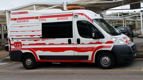 Ambulancia española - Sputnik Mundo