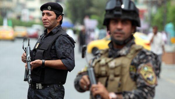 Policía iraquí (archivo) - Sputnik Mundo