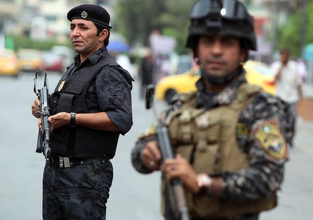 Policías iraquíes (archivo)