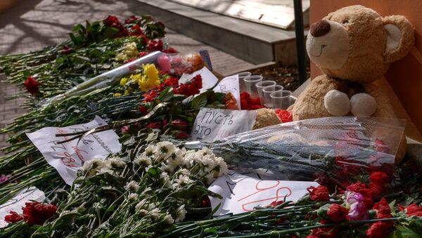 Homenaje a las víctimas del accidente aéreo de FlyDubai en Moscú - Sputnik Mundo
