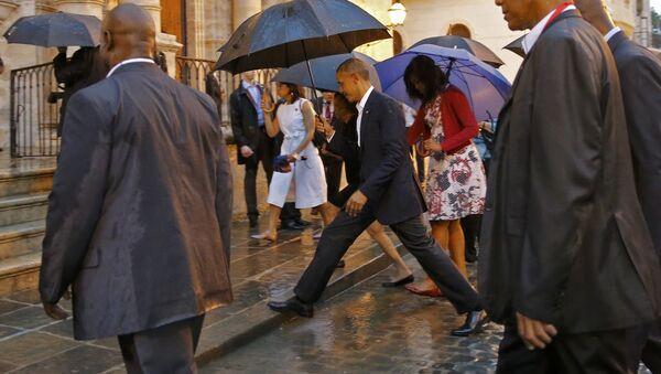 Presidente de EEUU Barack Obama y su familia en La Habana - Sputnik Mundo
