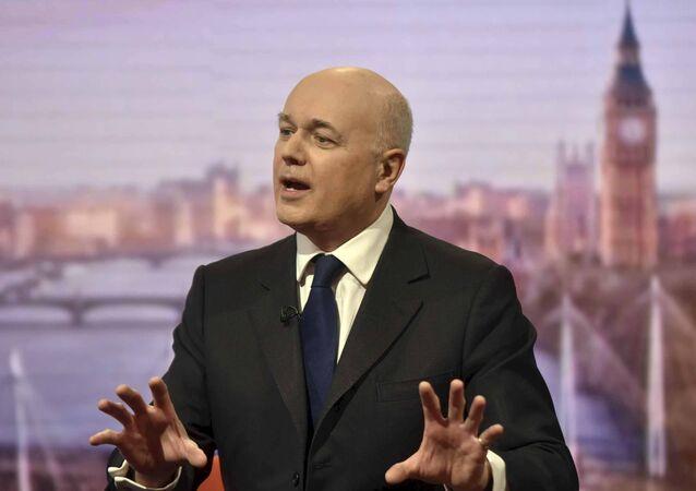 Ian Duncan Smith, ministro de Trabajo y Pensiones de Reino Unido