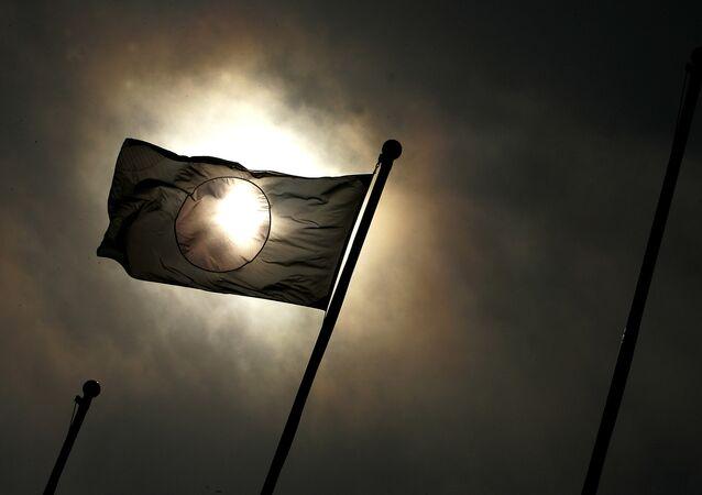 La bandera de Japón