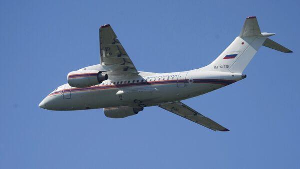 An-148 del Ministerio de Emergencias de Rusia - Sputnik Mundo