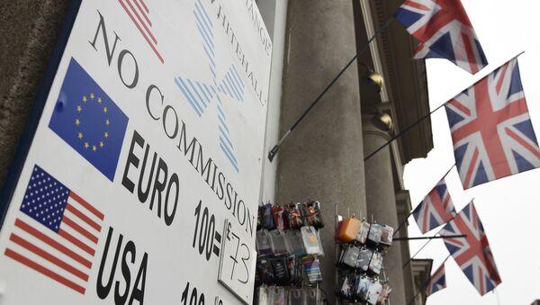 Situación financiera en Reino Unido - Sputnik Mundo