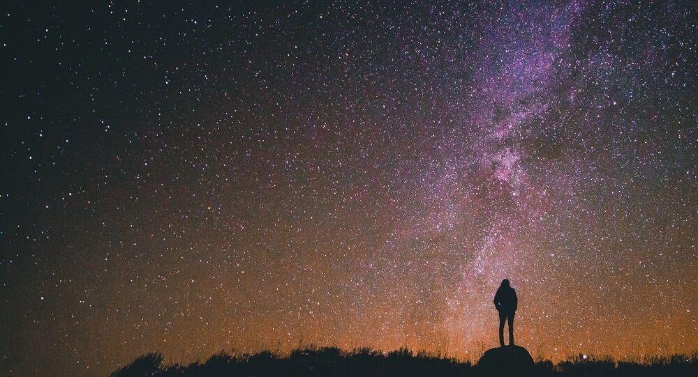 Cielo estrellado (imagen referencial)