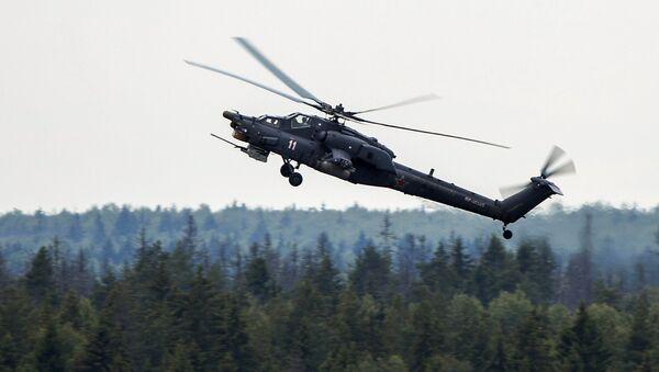 Helicóptero ruso de combate Cazador Nocturno - Sputnik Mundo