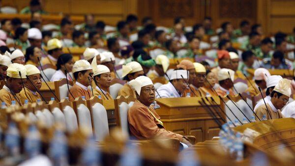 Parlamento de Birmania - Sputnik Mundo