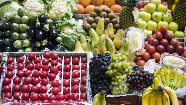 Frutas y verduras - Sputnik Mundo