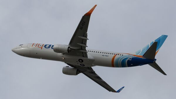 FlyDubai Boeing-737-800 - Sputnik Mundo
